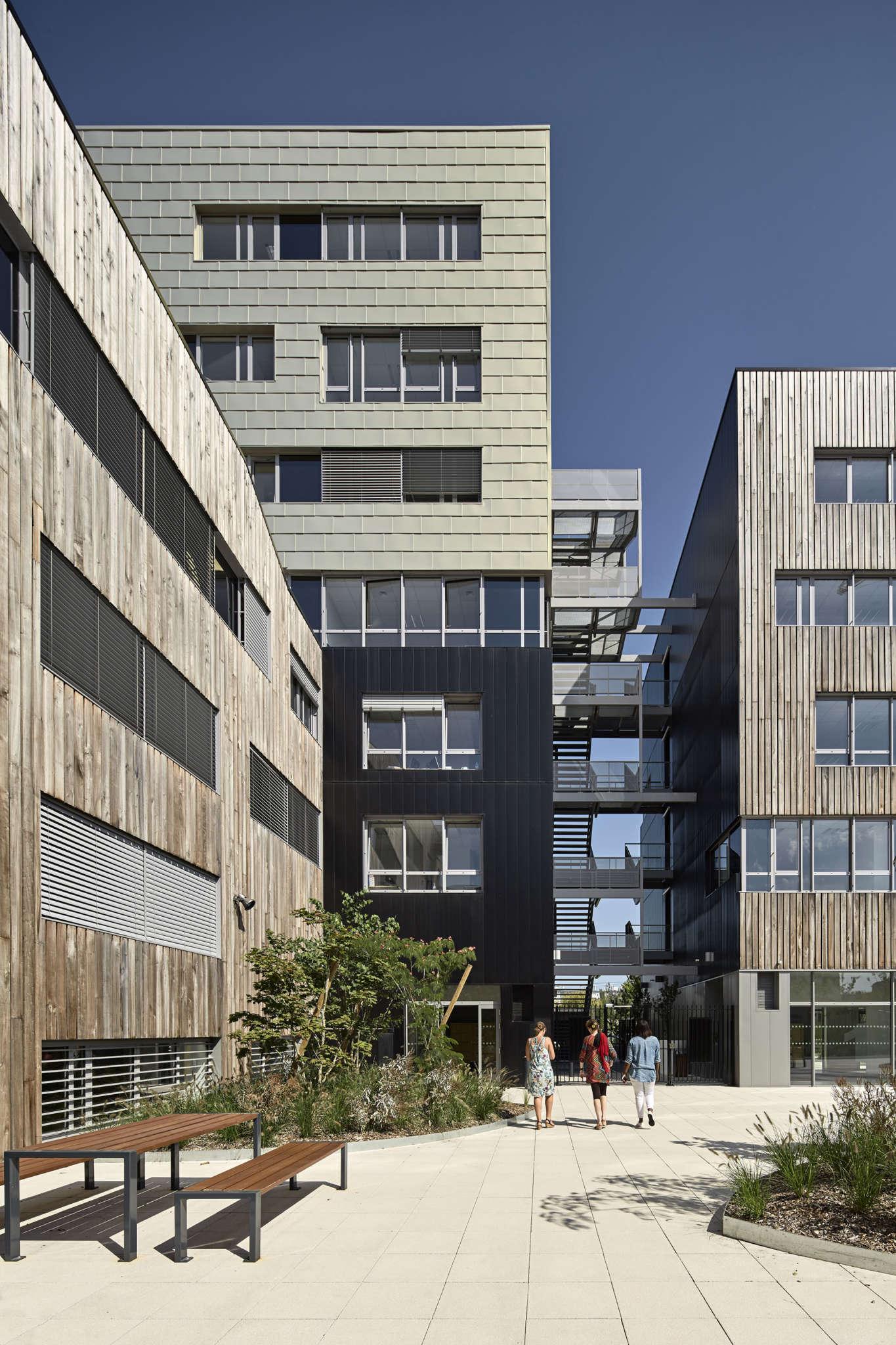 Marian Rubio Architectes Projet Bureaux Et Commerces Meoza Rennes 5
