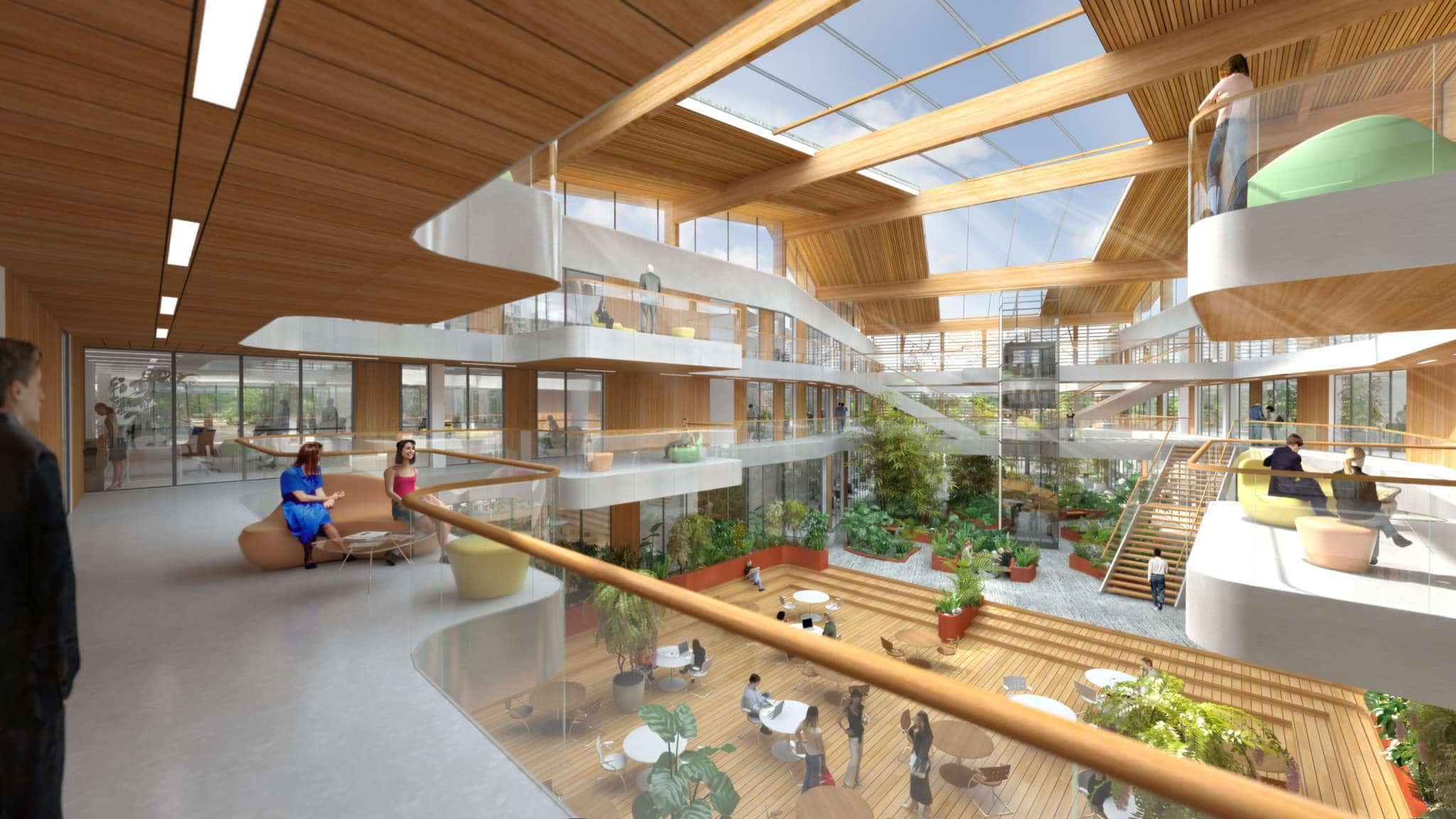 Marian Rubio Architectes Projet Projet Campus Avril Kerlann 1